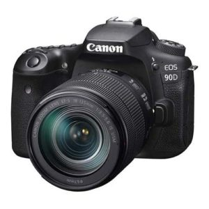 Canon EOS 90D EF-S with 18-135mm Lens Kit