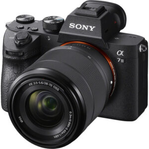 Sony α7 III with with 28-70mm Lens